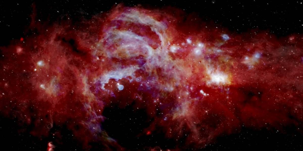 La NASA revela la primera imagen en alta resolución del centro de nuestra galaxia