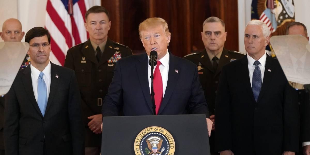 """Resultado de imagem para Trump em discurso sobre o Ira"""""""