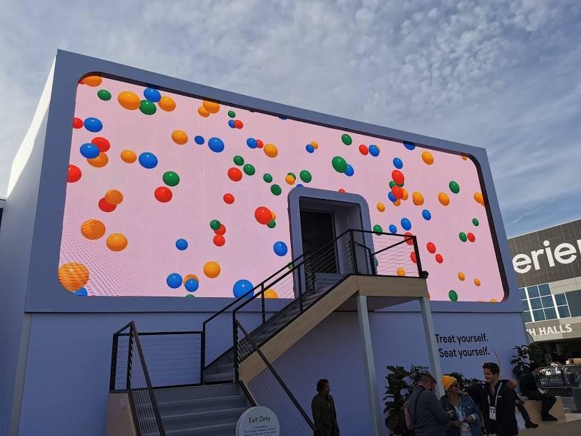 Google Booth: La experiencia del stand más grande en #CES2020