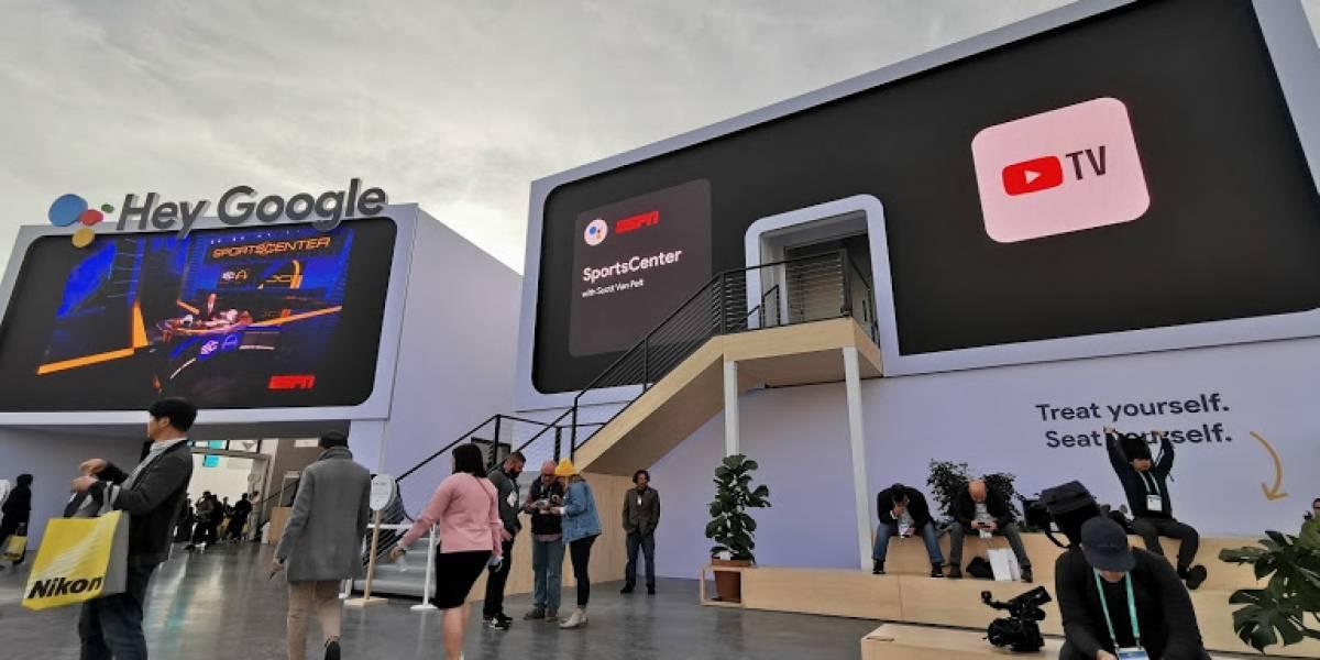 Google Booth: La experiencia de visitar un stand diferente en #CES2020