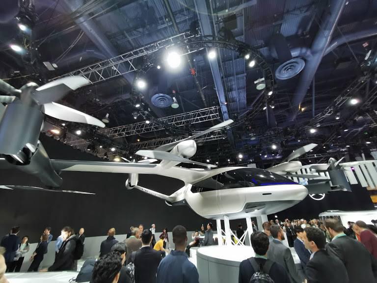 Autos voladores: el futuro de la industria automotriz se instaló en #CES2020