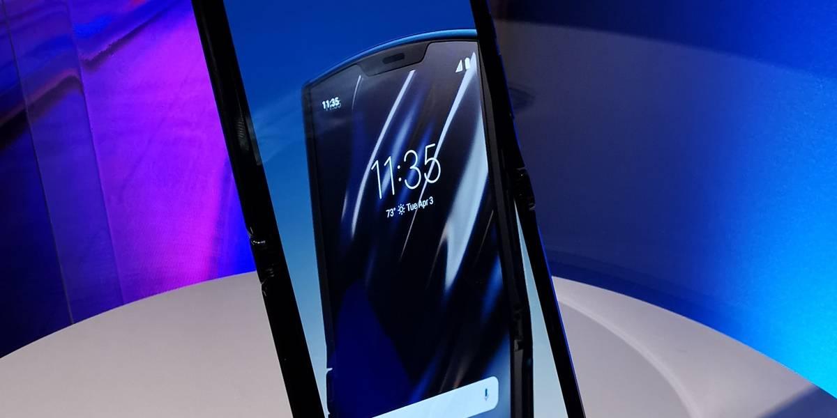 Motorola Razr ha sido elegido como el dispositivo más difícil de desarmar
