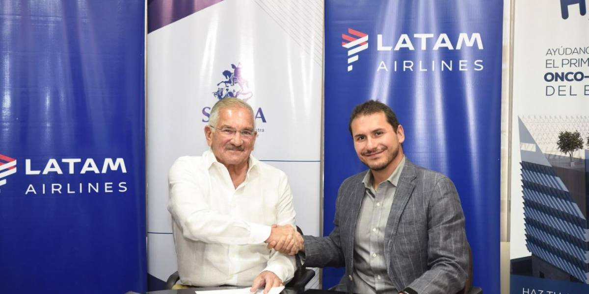 Latam y Solca-Hope, unidos para luchar en contra del cáncer infantil