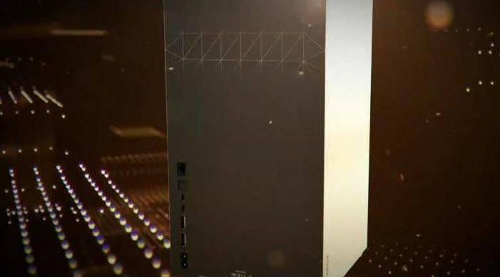 puertos trasero Xbox Series X