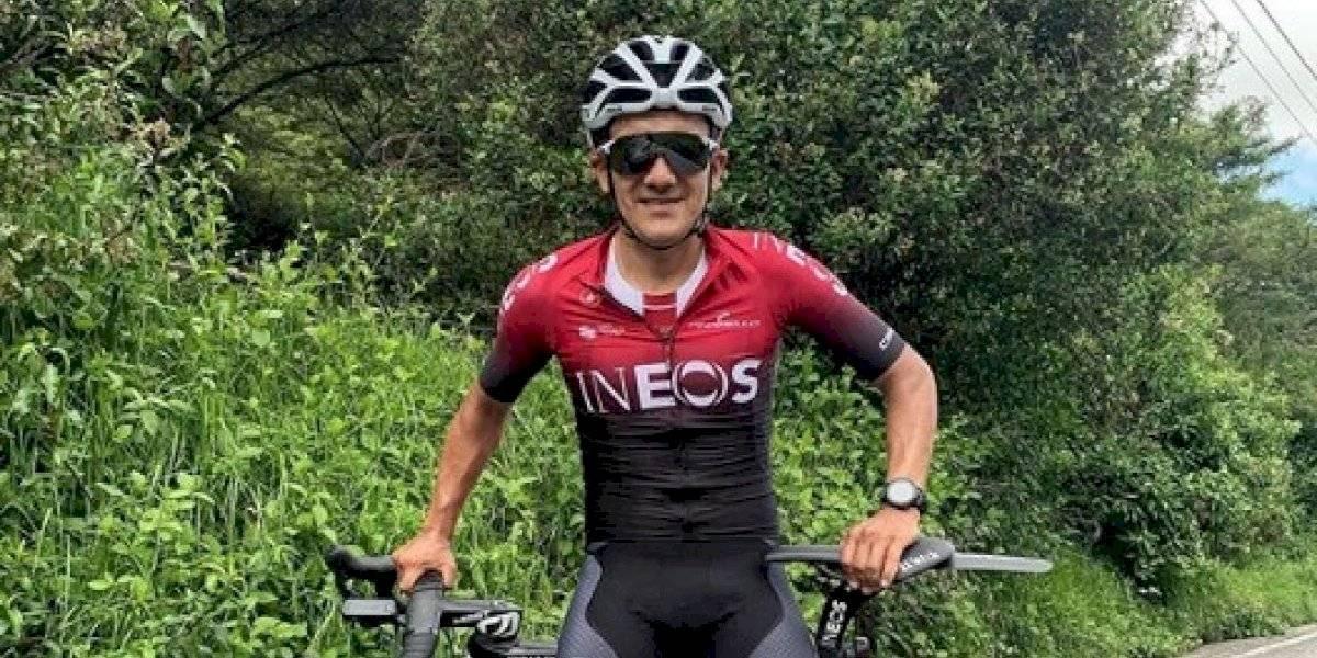 Richard Carapaz participará, con su nuevo equipo, en el Tour Colombia