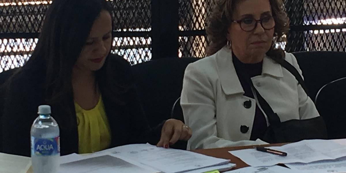 Diputados de UNE reaccionan ante visita autorizada de Sandra Torres al Congreso