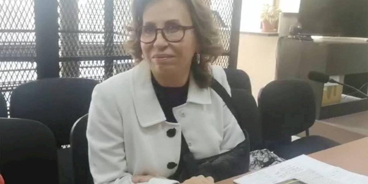 """VIDEO. Sandra Torres: """"Confío en Dios y en la justicia"""""""