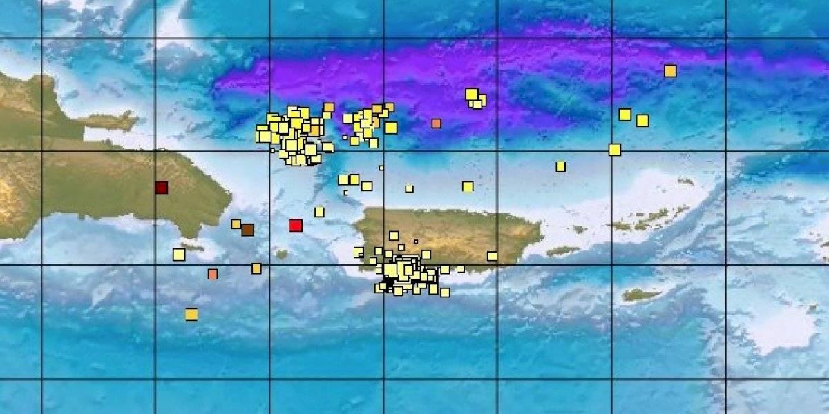 Se reporta temblor fuerte al sur de Puerto Rico