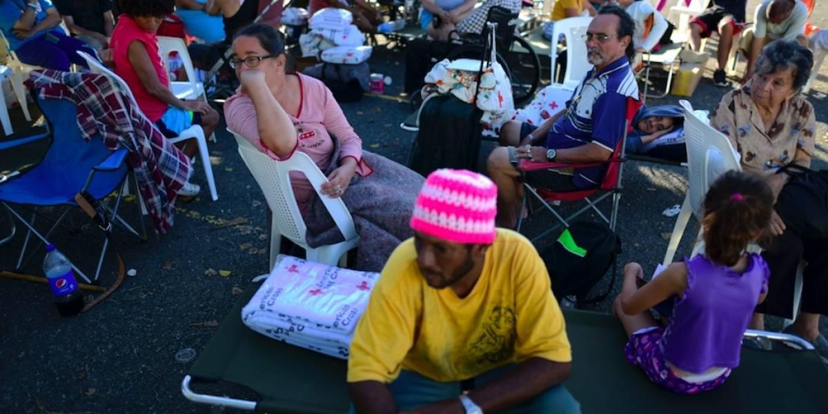 Residentes del Campamento La Luna en Guánica reclaman mejores condiciones de vivienda frente al Coronavirus