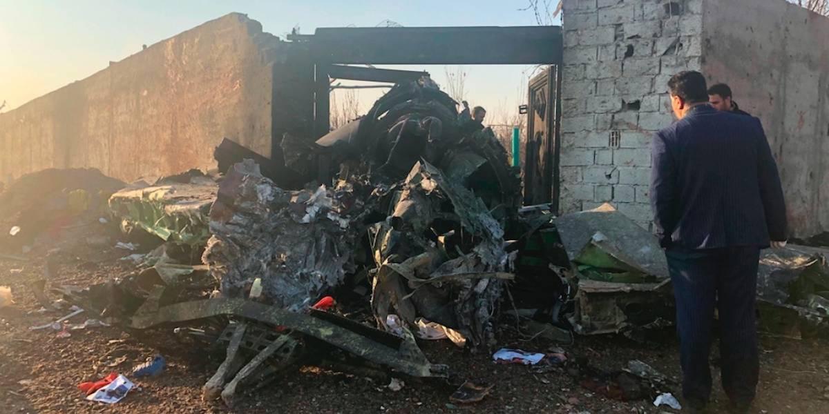 176 muertos al caer avión ucraniano en Irán
