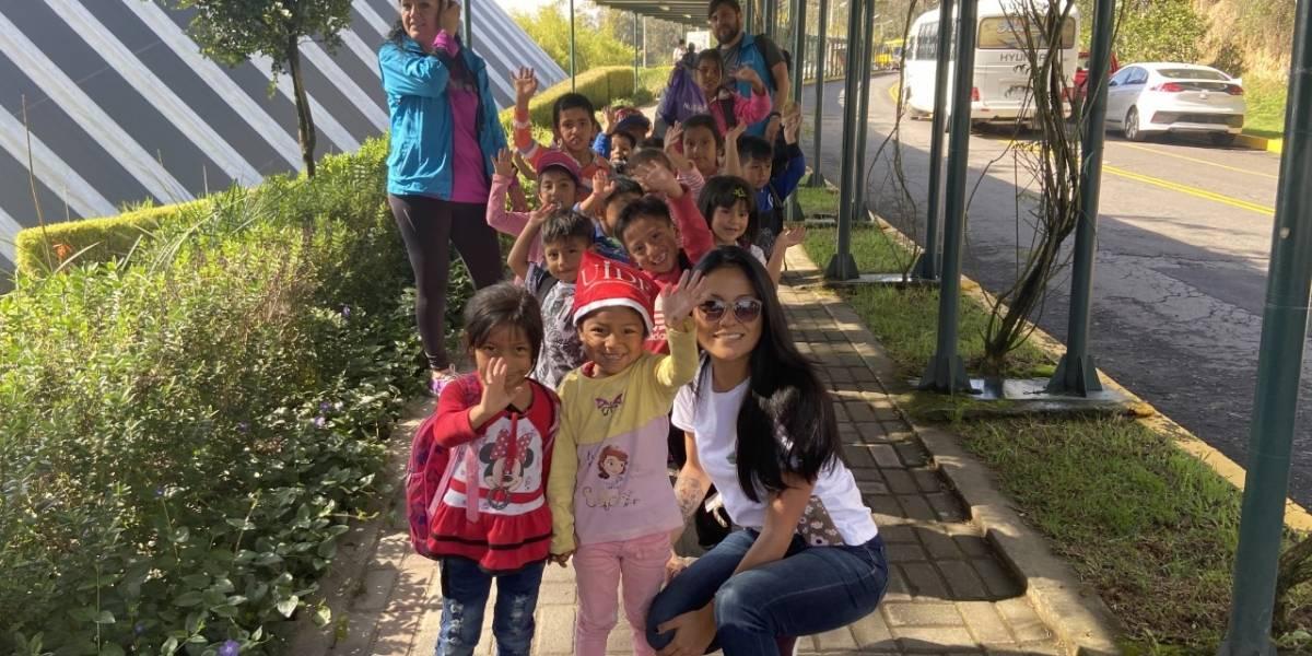 UIDE brindó un agasajo navideño niños de Patronato San José