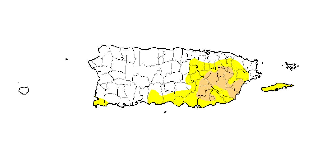 No refleja cambios informe semanal de sequía