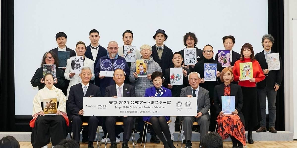 Lanzan carteles oficiales de Tokio 2020