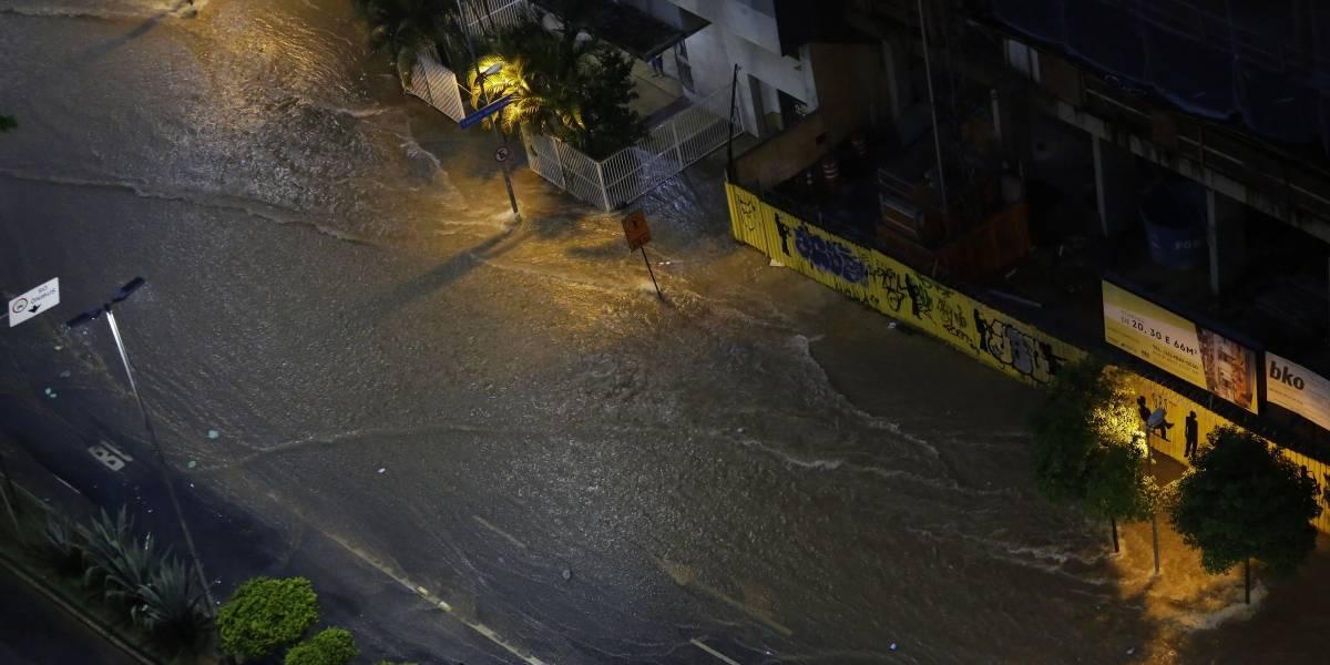 Duas pessoas morrem em consequência da chuva na Grande São Paulo