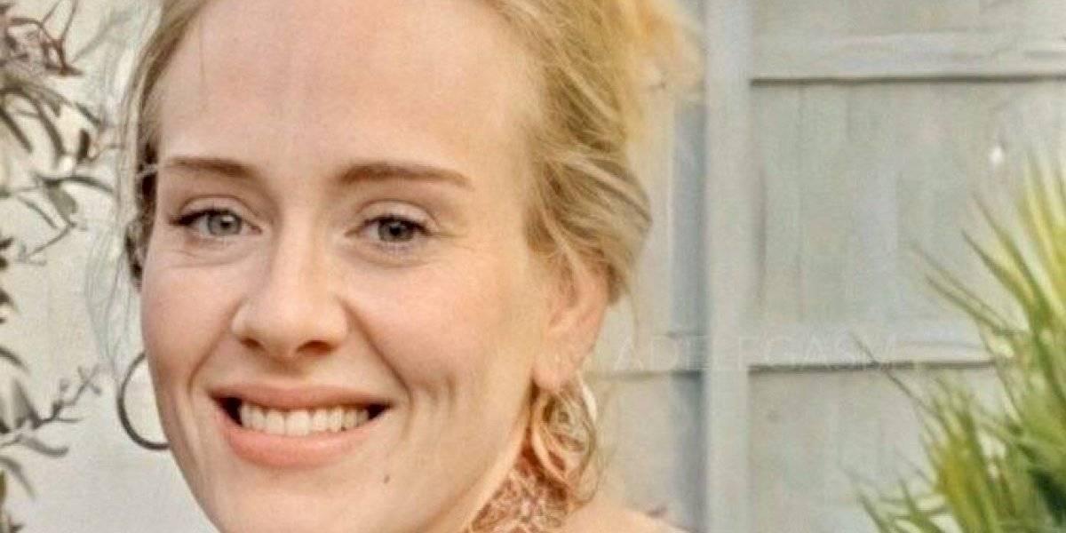 Adele nuevamente sorprende con su nueva figura