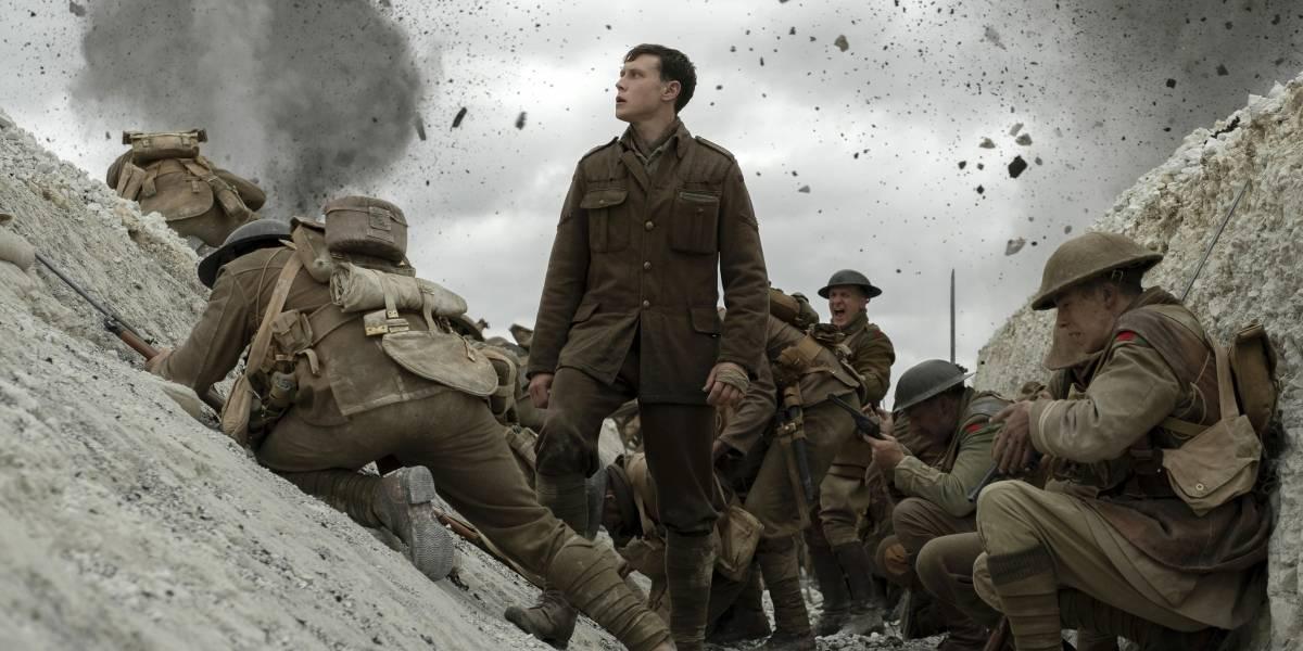 1917:  deslumbrante filme sobre la guerra