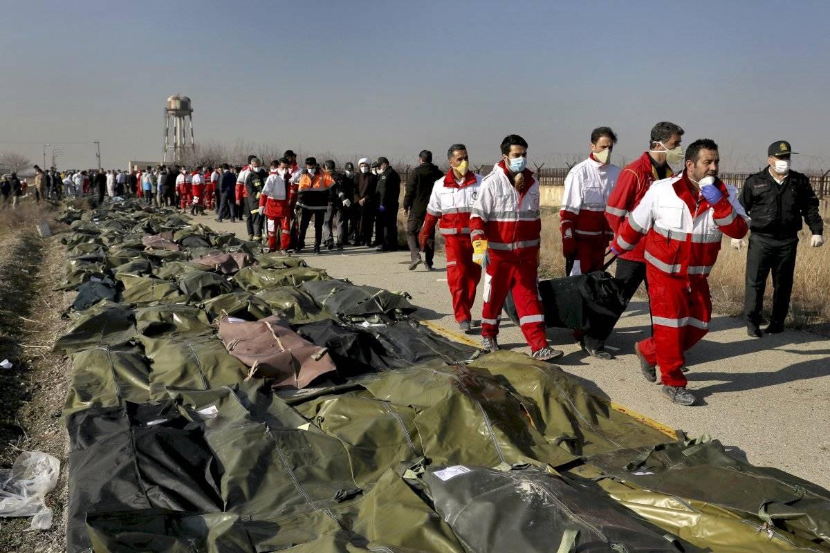 EEUU y Canadá: Irán derribó avión ucraniano AP