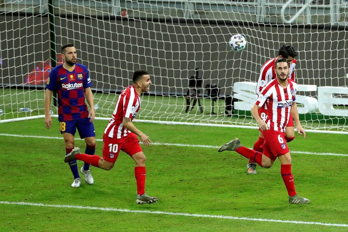 ¡De locos! Atlético eliminó al Barcelona en un partido que tuvo de ...