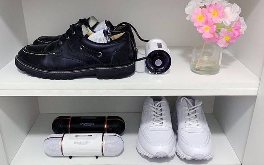 dispositivo ShoeBlast