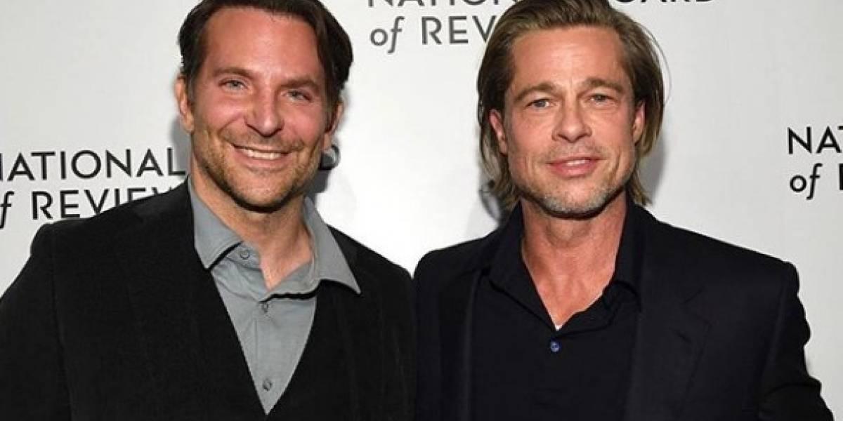 """Me puse sobrio gracias a este tipo"": Brad Pitt agradeció públicamente a Bradley Cooper por ayudarlo a salir del alcoholismo"