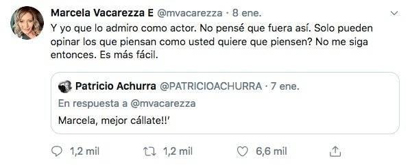 Patricio Achurra y Marcela Vacarezza
