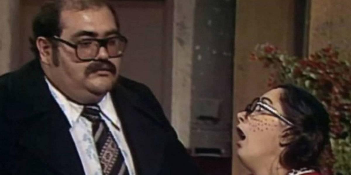 ¿Solo amigos? Beso de 'la chilindrina' y el 'señor Barriga' da de qué hablar