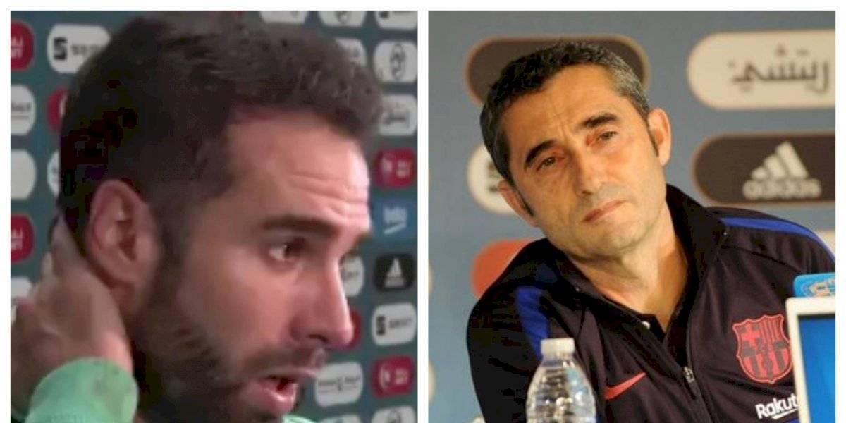 """Carvajal a Valverde: """"Si no le gusta el nuevo formato de la Supercopa, que ponga una queja"""""""