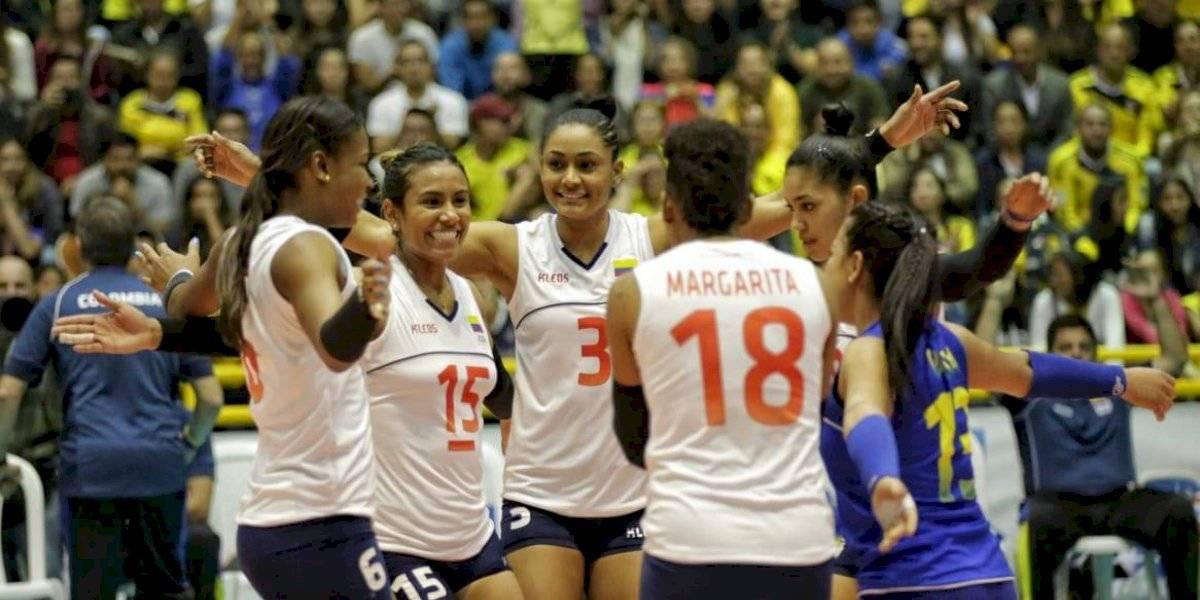 Agotadas las boletas para final del Pre贸limpico de voleibol, en Bogot谩 (馃嚚馃嚧 vs 馃嚘馃嚪)