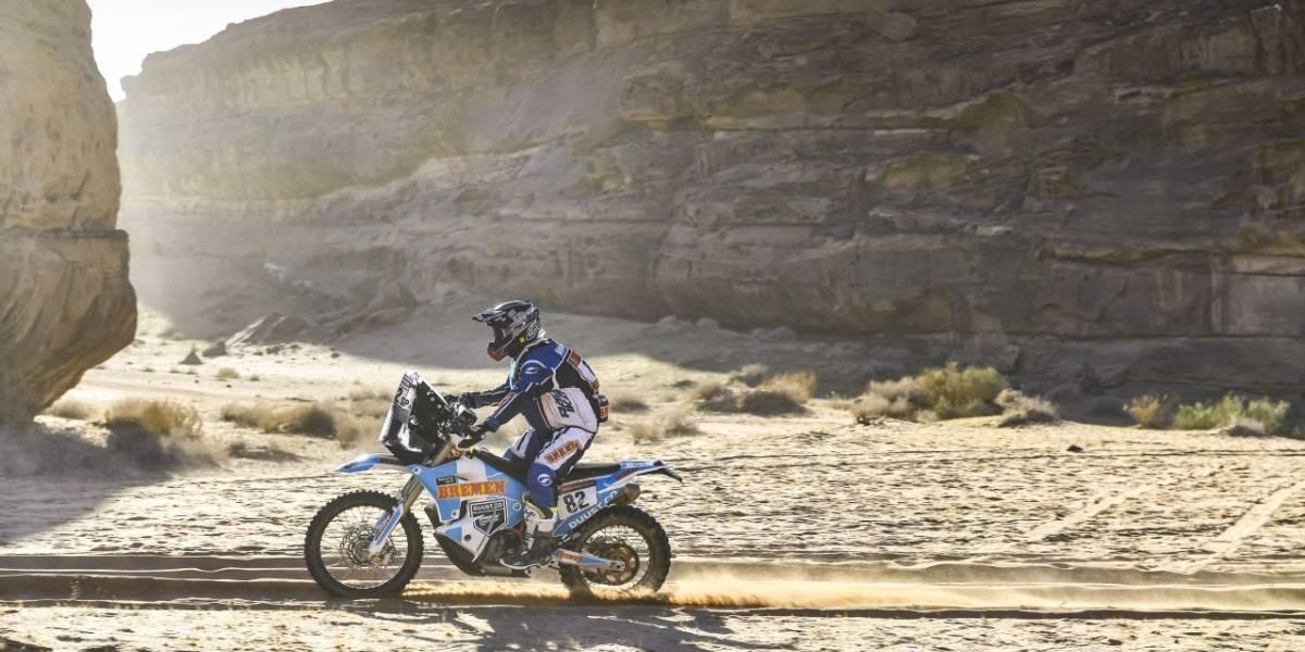 Francisco Arredondo sigue batallando por no salir del top 100 del Rally Dakar