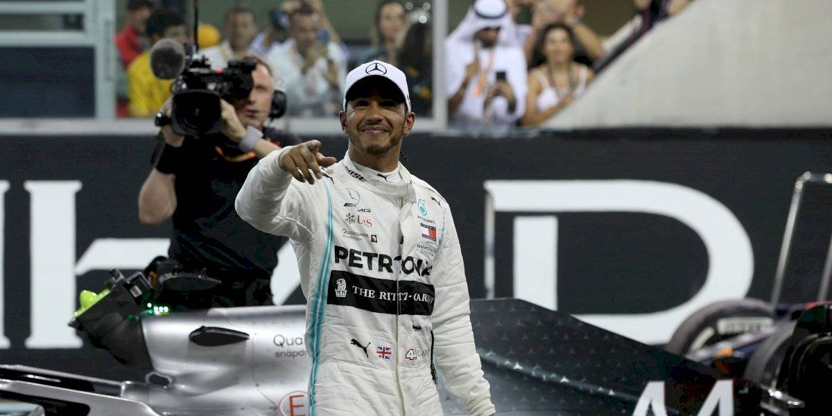 Mercedes cambió de color para apoyar la lucha contra el racismo en el campeonato de la F1