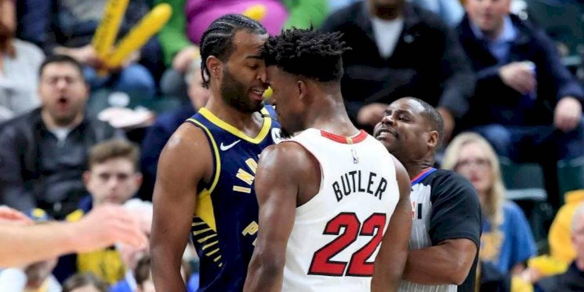 """""""Este tipo es una basura, no compite en mi p... liga"""": El fuerte cruce entre Pacers y Heat que encendió la NBA"""