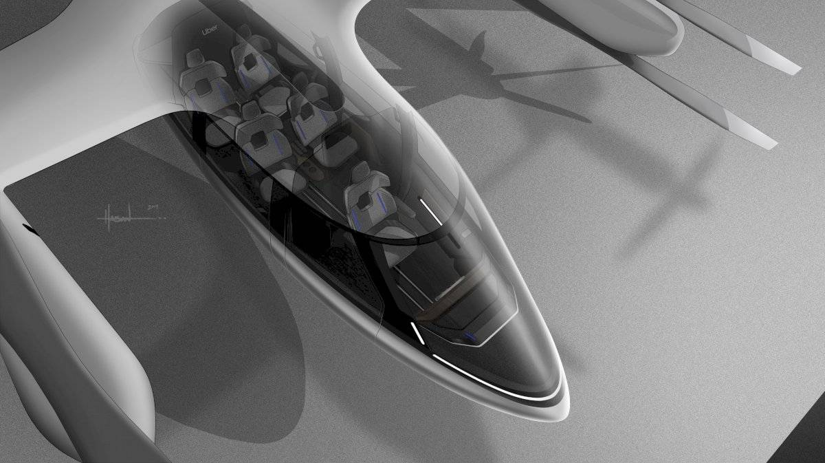 Hyundai Uber Elevate taxi aéreo
