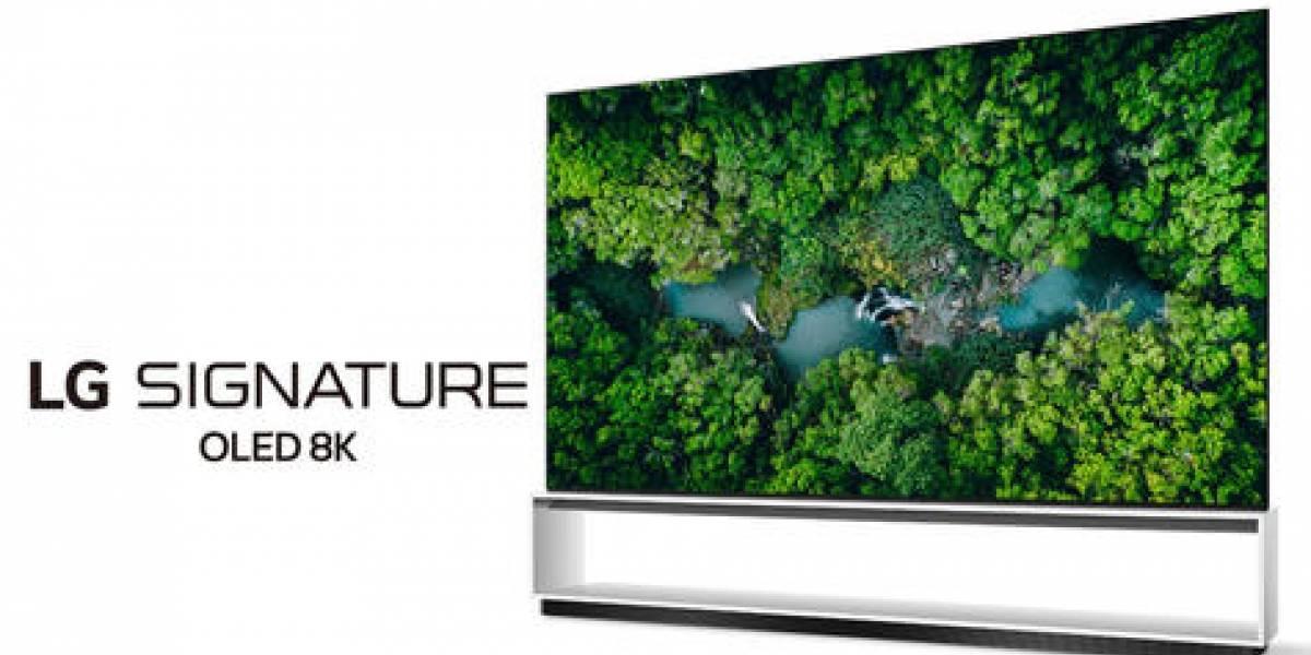 LG presenta su línea de TV real 8K 2020 en el CES 2020