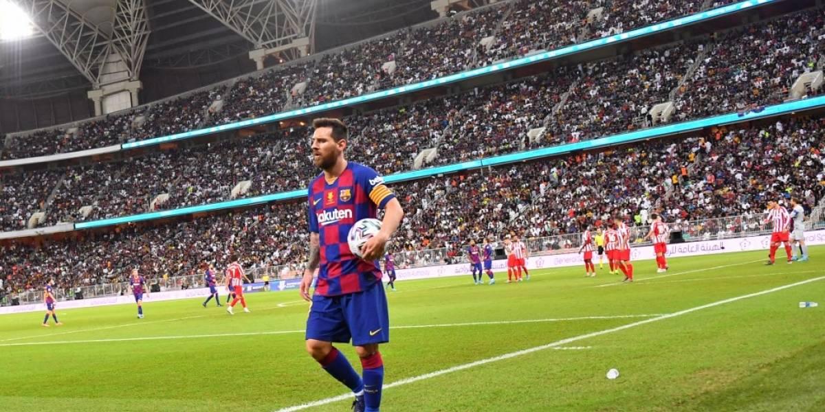 Messi podría decirle adiós al Barcelona de no arreglarse la situación con Abidal