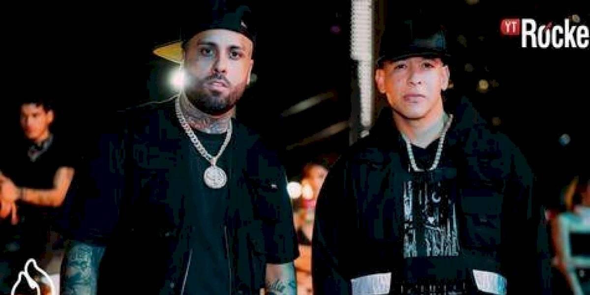 """Nicky Jam y Daddy Yankee felices de promover su tema """"Muévelo"""""""