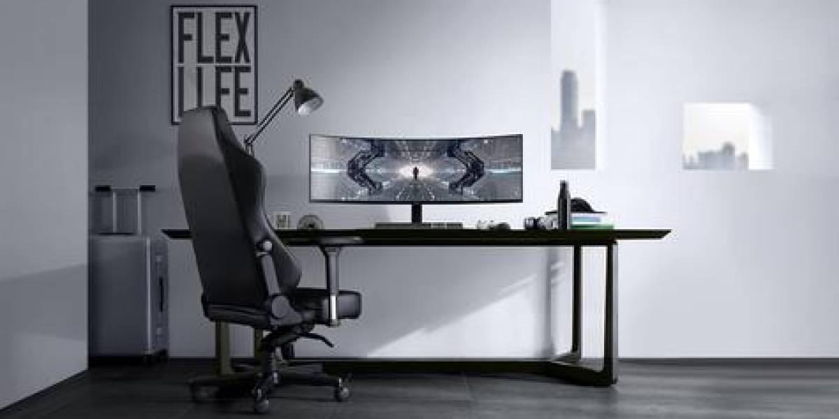 CES2020: El Odyssey G9 de Samsung es el monitor de videojuegos ultra ancho más extremo que hemos visto