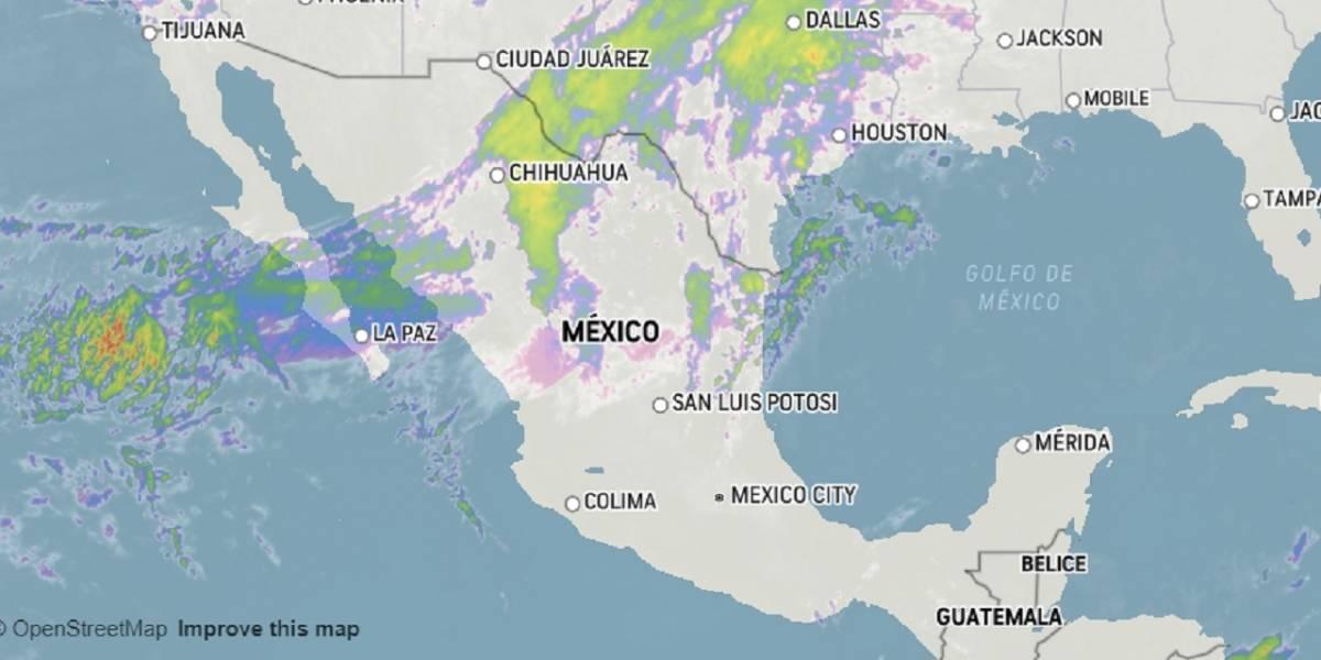 Pronóstico del clima para hoy jueves 9 de enero