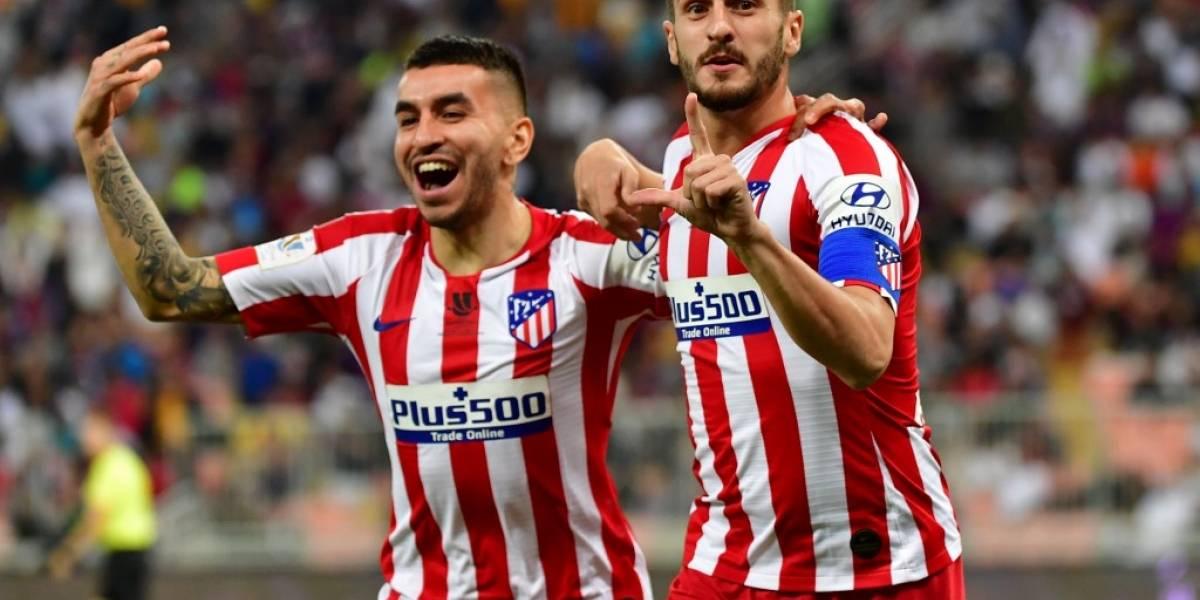 Atlético de Madrid hace historia al vencer al Barcelona en Supercopa de España