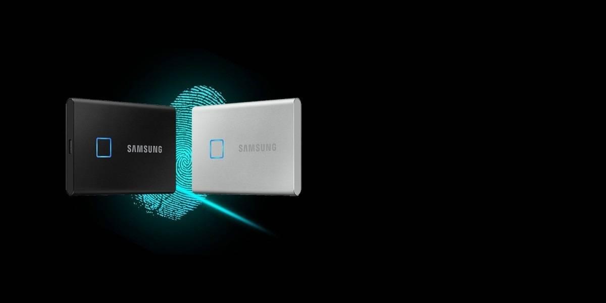 T7 Touch: el disco duro SSD de Samsung que se desbloquea con tu huella digital #CES2020