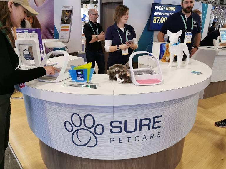 Ahora tus mascotas podrán siempre en el mismo plato con SureFeed #CES2020