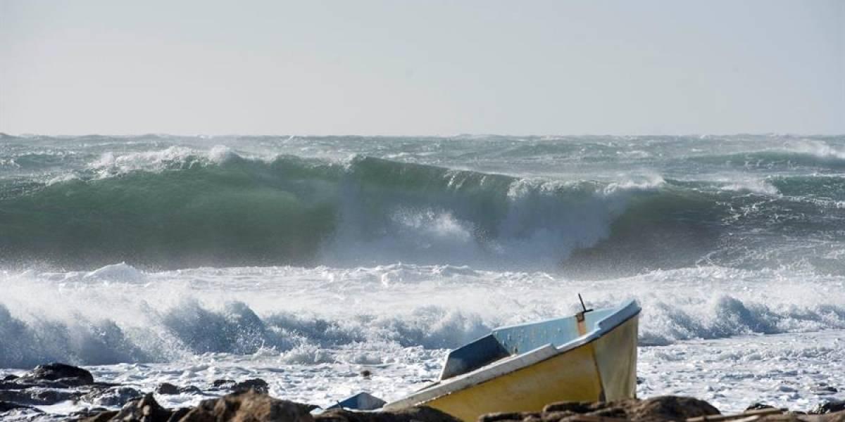 Alerta roja en el caribe colombiano por fuertes vientos y alto oleaje