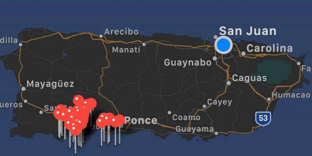 Dos sismos de 4.5 y 3.7 grados vuelven a levantar al sur de Puerto Rico