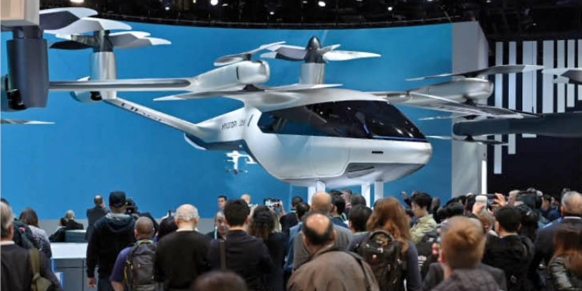 El carro volador que desarrolla Uber y que ya no llegará a Colombia