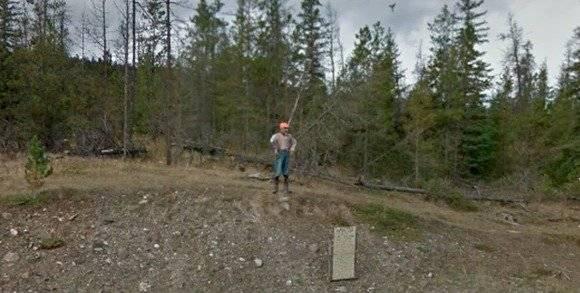 Google Maps capta a misteriosa criatura verde que parece duende