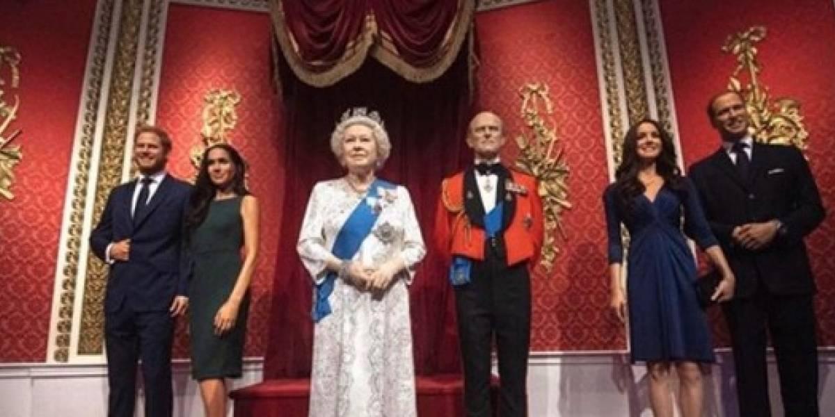 Meghan Markle y el príncipe Harry fueron retirados de la familia real de Museo de Madame Tussauds