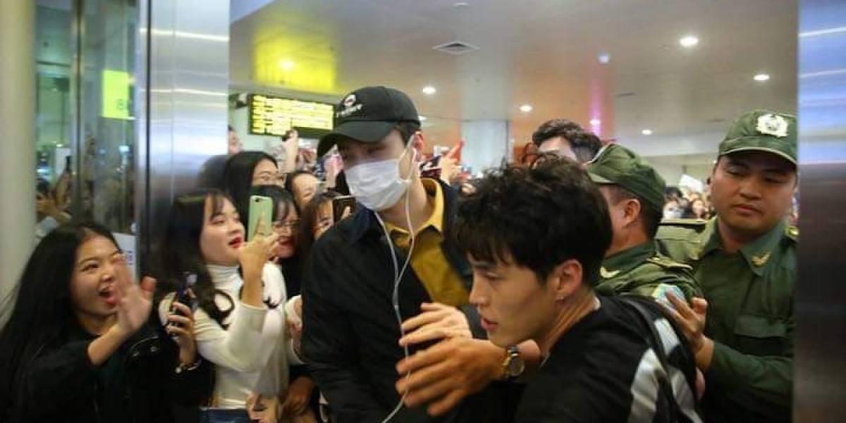 Llegada de banda K-pop a Vietnam terminó con incidentes provocados por sus fans
