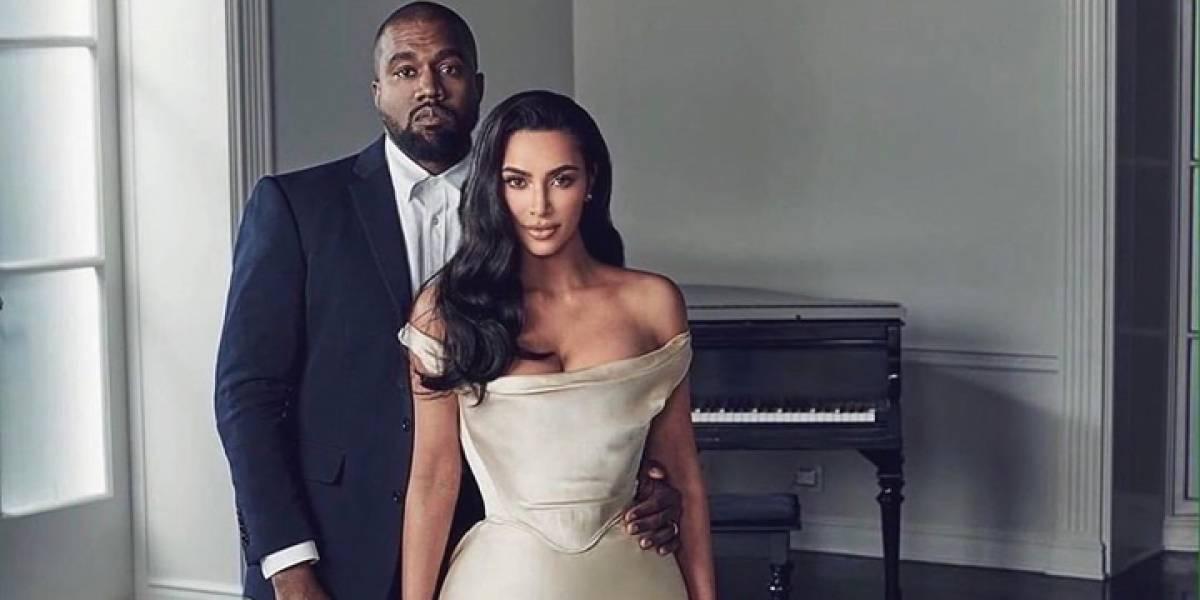 Kim Kardashian desafía a su esposo con esta foto en ropa interior