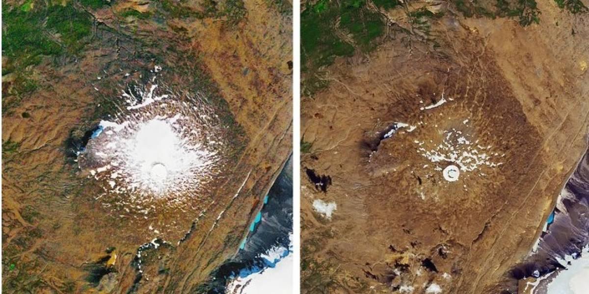 4 fotos que demostram sinais impressionantes das mudanças climáticas
