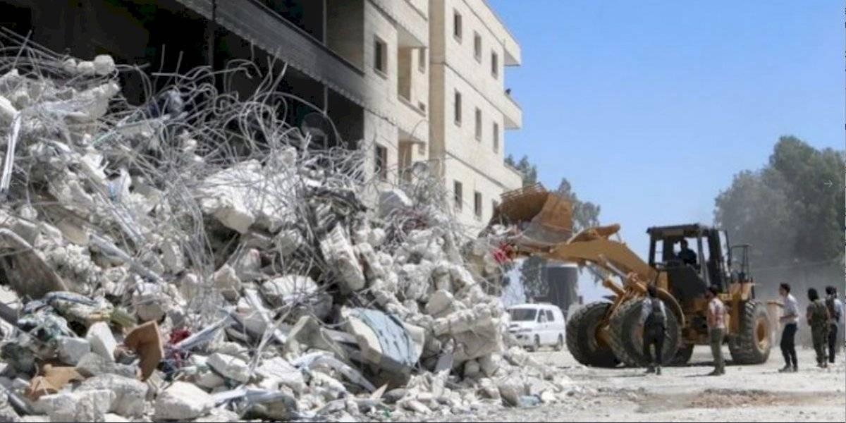 Ocho muertos en ataque contra milicias proiraníes en Siria