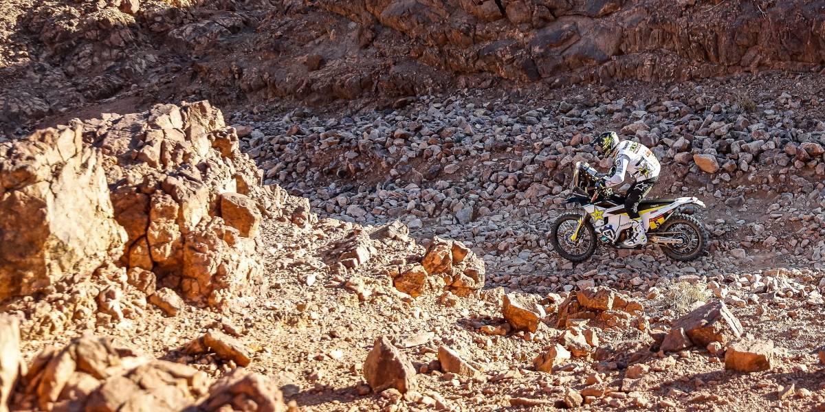 Rally Dakar 2020: Quintanilla pisa a fondo y vuelve al subliderato de las motos en Arabia Saudita